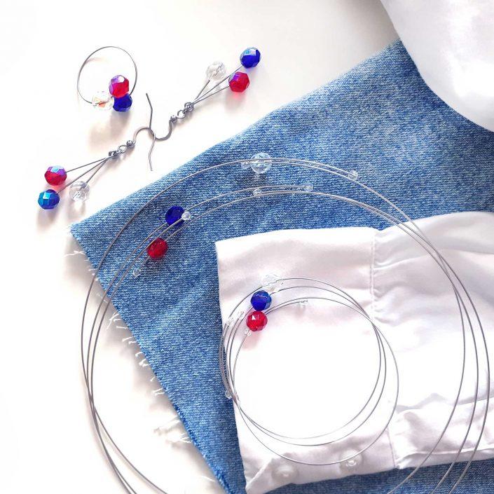 Šperky kolekce Trikolóra Design © Copyright GeorGina Jiřina Chrtková FAST SHOTS, s.r.o.