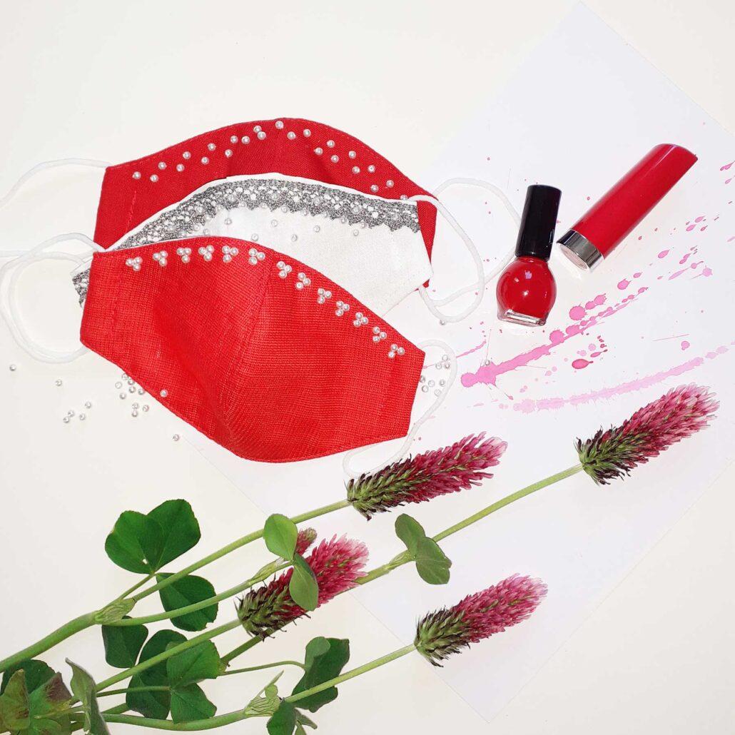Designové módní bavlněné ústní roušky Design © Copyright GeorGina Jiřina Chrtková FAST SHOTS, s.r.o.